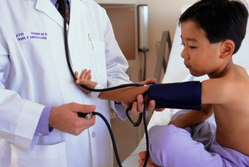 Can your kids have high blood pressure?