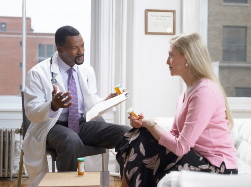 Don't be afraid to talk to your doctor