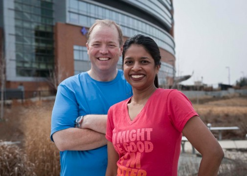 Duo 110 pound loss, pair ready for Chicago Marathon
