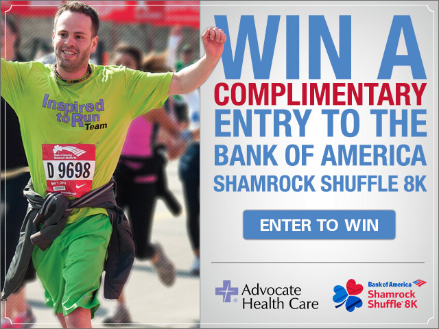 Enter to Win an Entry to the 2014 Shamrock Shuffle