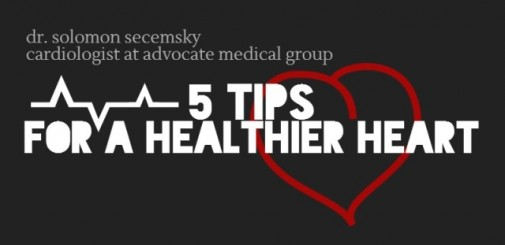 Infographic: 5 tips for a healthier heart