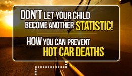 Infographic: Keeping kids safe in cars