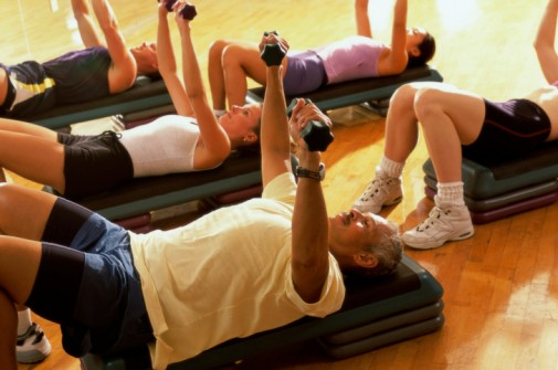 Adults failing to meet muscle strength standards