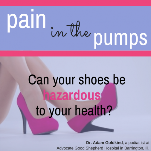 Infographic: Can your shoes be hazardous to your health?