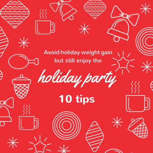 Infographic: 10 tips to avoid holiday weight gain