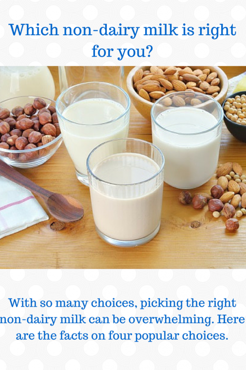 Infographic: Which non-dairy option is right for you?