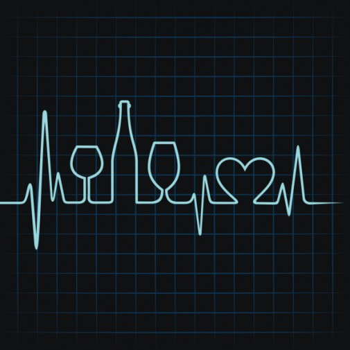 Can an alcoholic drink a day keep the heart doc away?