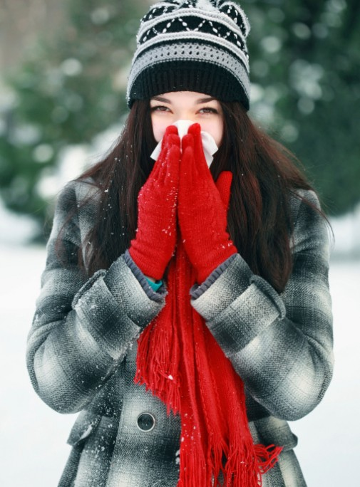 Why people get sick in winter