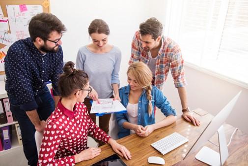 How work spaces affect Millennials' health