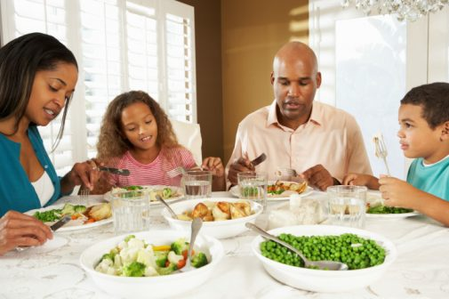 Families who do this at dinner are less likely to be overweight