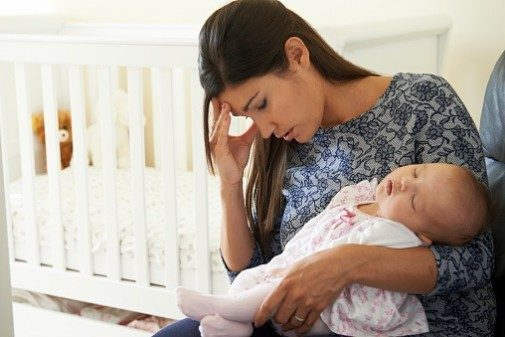 The widespread condition affecting new moms