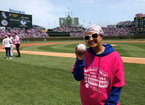 A grueling but victorious battle against cancer