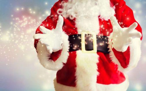 Santa in the hospital?