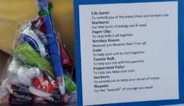 Health Care Heroes: Gratitude gift bags